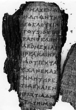 Derveni Papyrus