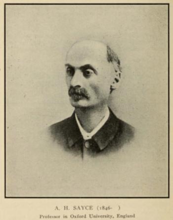 Sayce 1911 Gods Two Books