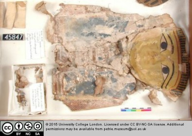Petrie Museum Papyrus Mummy Mask
