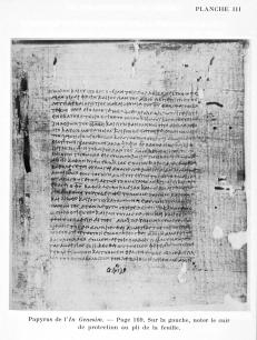 Tura Codex IV Didymus Genesis
