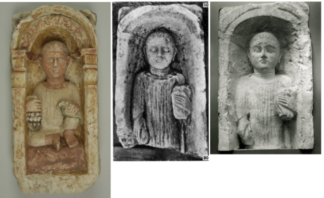 Child reliefs from Oxyrhynchus 3