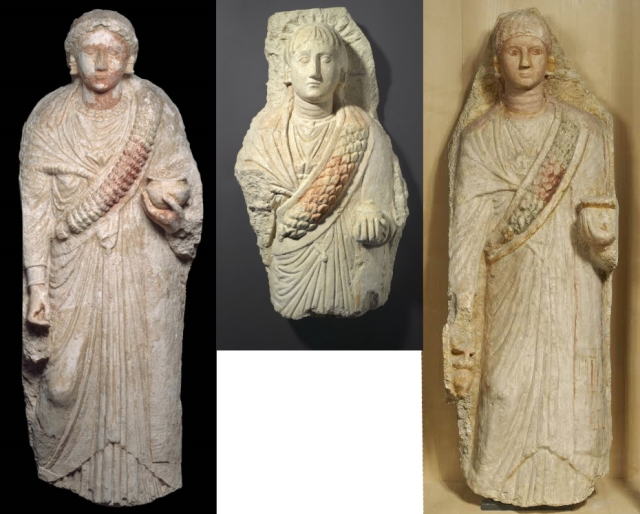 Female Statues Attributed to Oxyrhynchus
