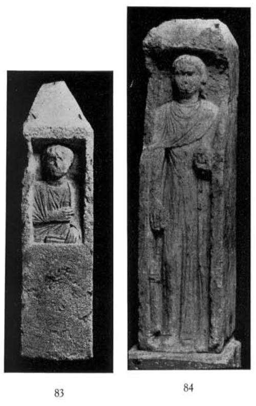 Alexandria 23375 and 23377 Oxyrhynchus Statue Breccia
