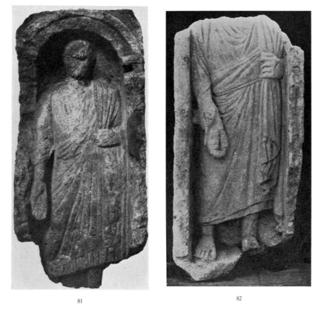 Breccia Plate XXVII Oxyrhynchus Statues