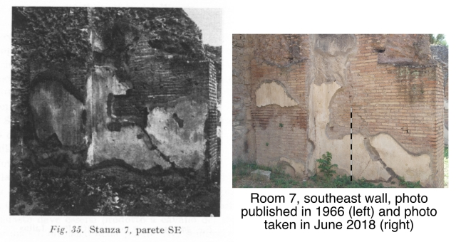 Palatine Paedagogium SE Wall Comparison