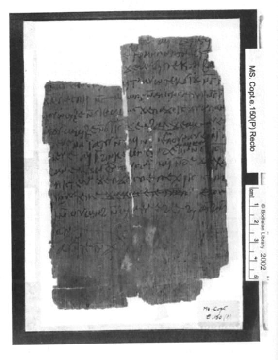 Bodleian Library Coptic John