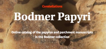 Bodmer Papyri Site