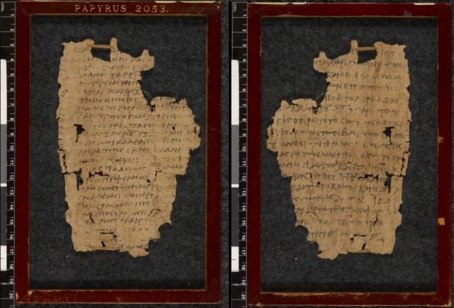 British Library Papyrus 2053