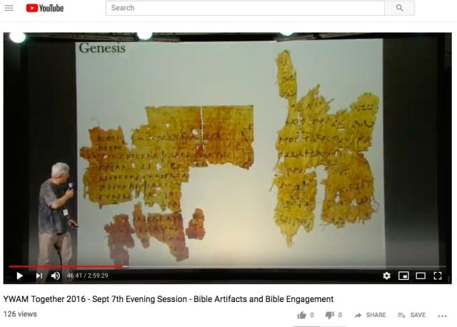 carroll genesis papyri 2