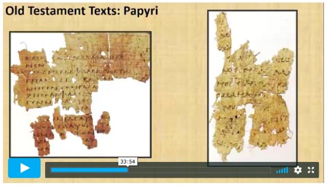 carroll genesis papyri