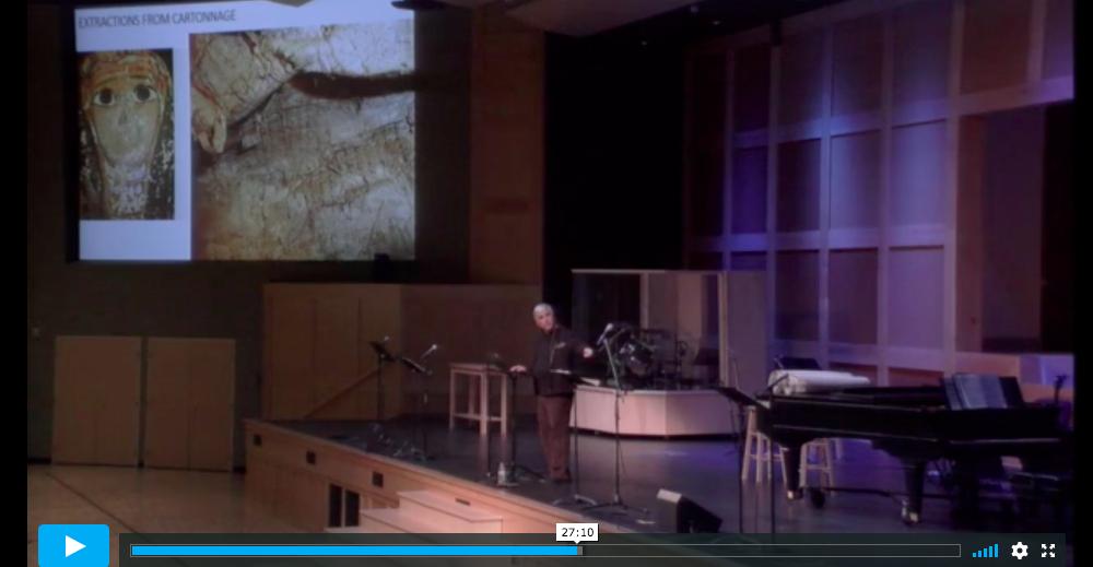 carroll mummy cartonnage presentation