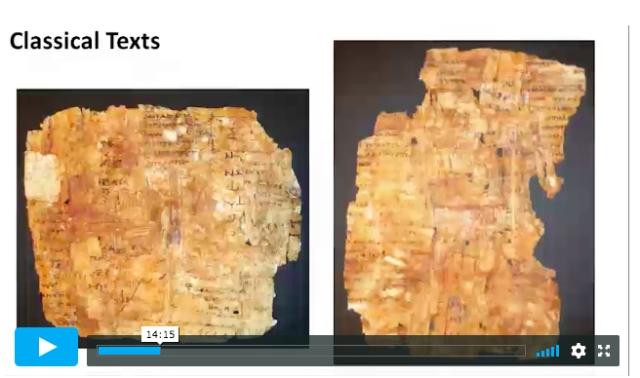 carroll papyrus cartonnage