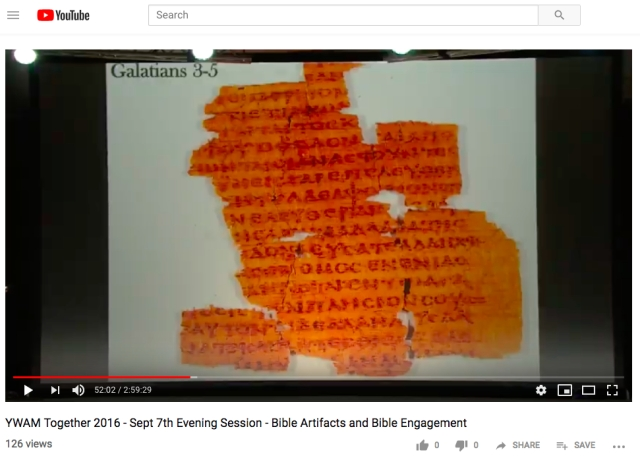 carroll papyrus galatians 3 to 5