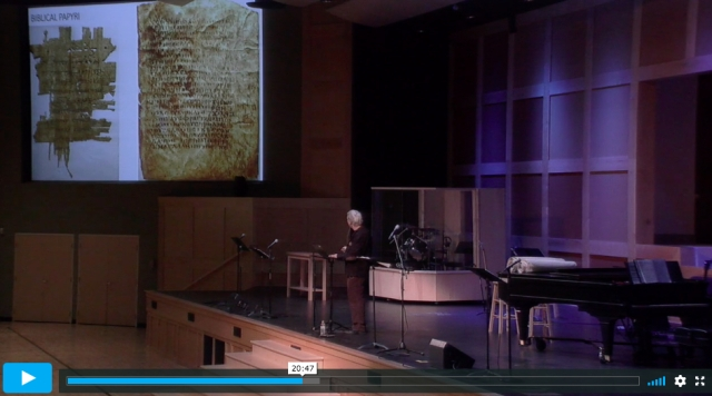 carroll psalms and john