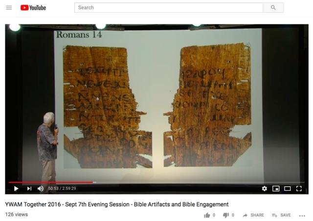 carroll romans 14 coptic