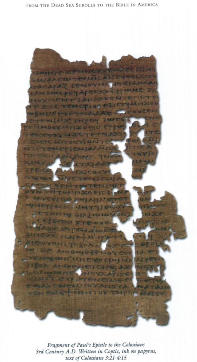 Tchacos Ferrini Pauline Epistles Codex