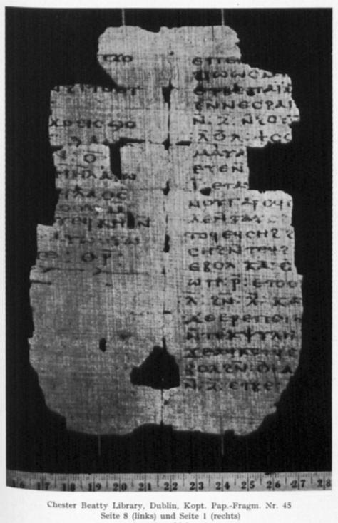Beatty 54 Pachomius Codex