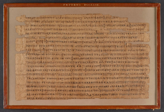British Library Papyrus 729