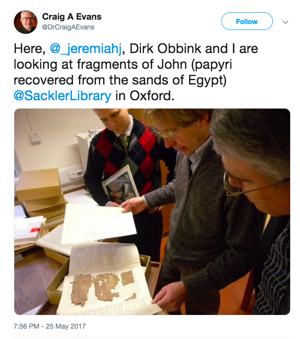 Dirk Obbink and the Museum of the Bible: A Brief History